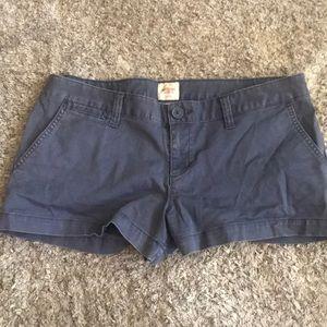 Blue jean shorts (juniors)